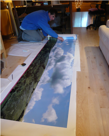 Model scenery backdrops - Model railroad backdrops ...