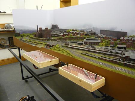 N scale scenery backdrops - Model railroad backdrops ...