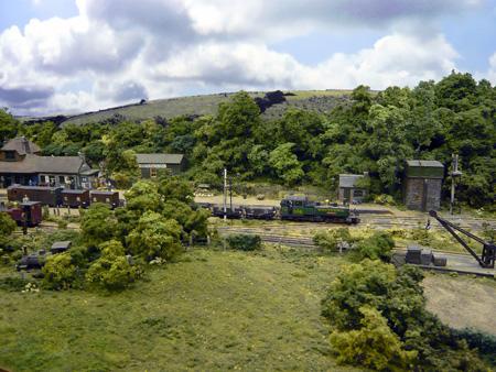Model railway backgrounds - Model railroad backdrops ...