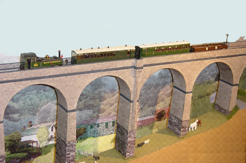 Chelfham Viaduct In 4mm 1ft Scale