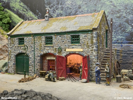 Model Railway Building Kits Oo Gauge